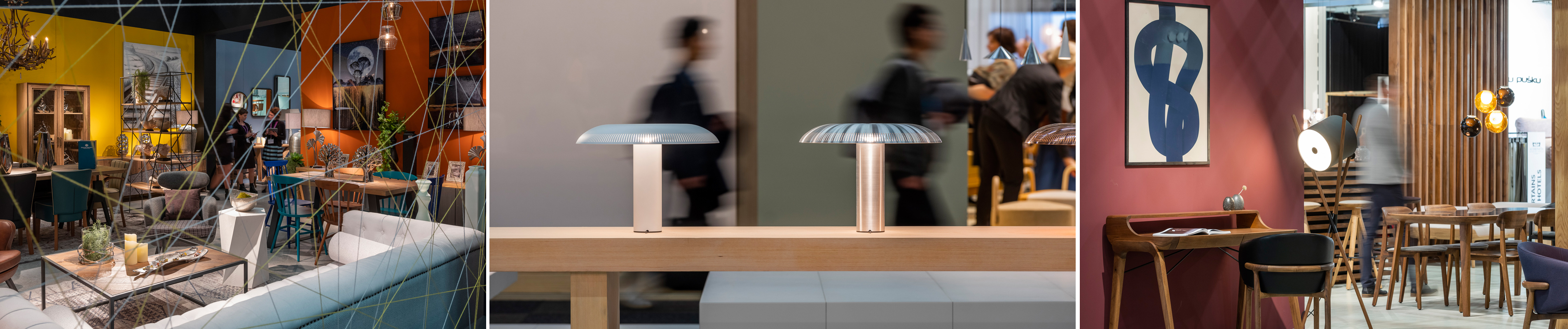 Exhibitions at Stockholm Furniture & Light Fair
